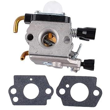 Replace Zama Carburetor For Stihl Fs38 Fs45 Fs45c Fs45l Fs46 Fs46c Fs55 Fs55c Fs55r Fs55rc Km55