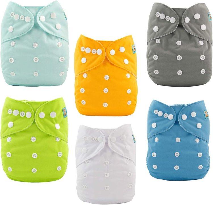 Estos me gustan mucho porque se secan rápido y los absorbentes igual, ademas de que son delgados