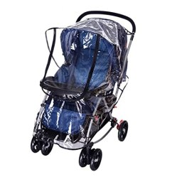 FakeFace Baby Travel Universal Transparent Clear Pushchair Stroller