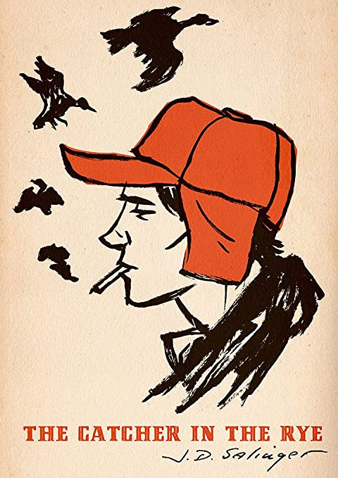 J.D Salinger Catcher In The Rye Holden Caulfield Reproduction A4 ...