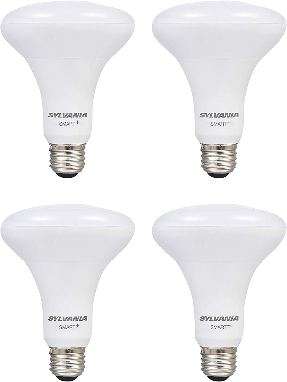 SYLVANIA Smart + Wi-Fi Soft White Dimmable BR30 LED Light Bulb