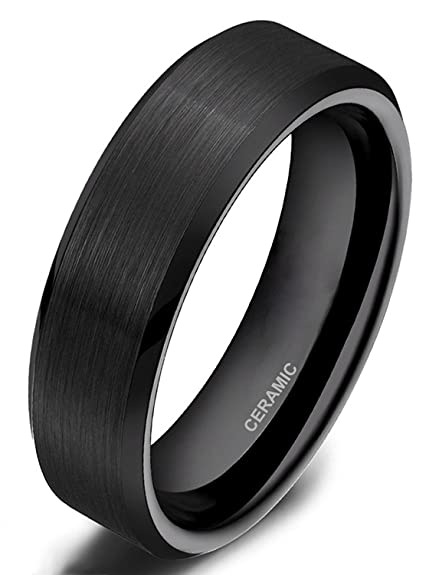 Ring negro para hombre y mujerhttps://amzn.to/2QKSNX3