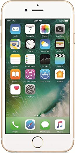 UK_A p p l e i P h o n e 6 by A P P L E 16GB Gold 4G LTE 4.7-inch Retina HD Phone