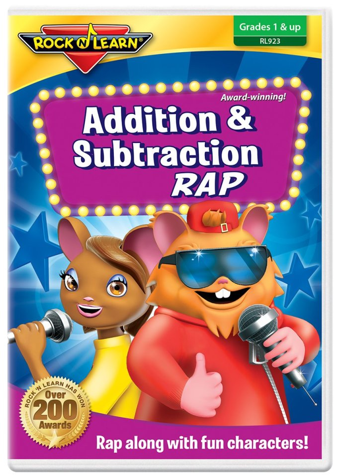 Amazon.com: Addition & Subtraction Rap DVD by Rock 'N Learn: Rock ...
