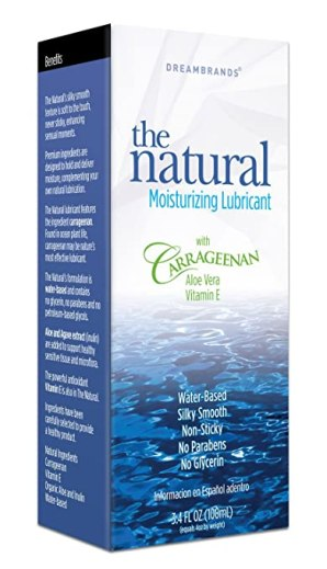 Carrageenan Gently Natural Personal Lubricant