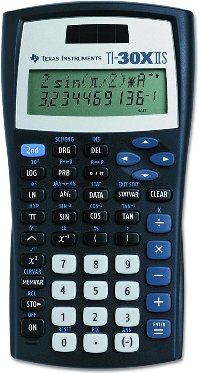 Ti30xiis Scientific Calculator Texas Instruments Amazon Co Uk Office Products