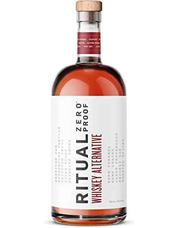 Ritual Whiskey Alternative | A Zero-Proof Non-Alcoholic Alternative | Echoes the Flavor, Nose, and Warmth of American Whiskey | For Easy Mocktails and Low-Carb, Alcohol-Free and Gluten-Free Cocktails