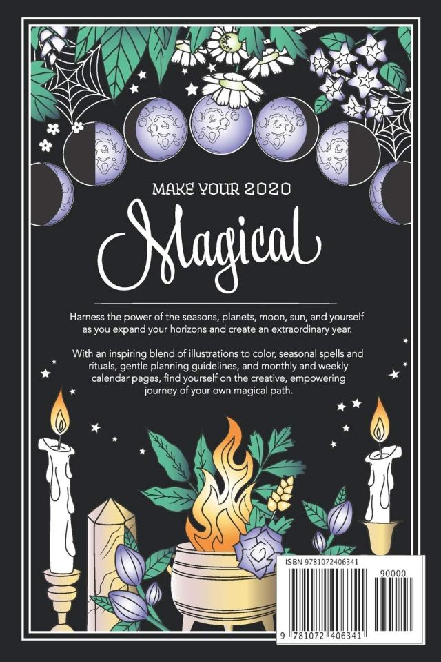 Coloring Book of Shadows: Planner for a Magical 12: Cesari, Amy