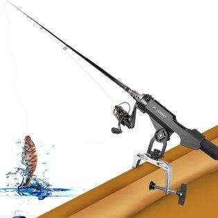 Support de cannes à pêche avec grande ouverture de serrage