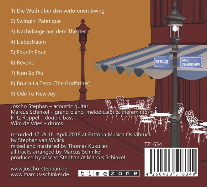 Картинки по запросу Marcus Schinkel Trio, Joscho Stephan - Classic Meets Gypsy