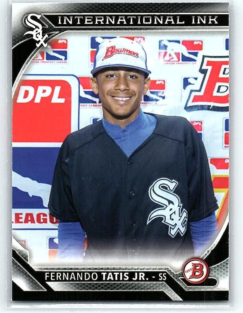 Amazon.com: 2016 Bowman International Ink #II-FT Fernando Tatis Jr. White Sox MLB Baseball Card NM-MT: Collectibles & Fine Art