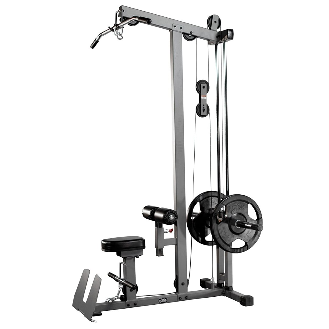 XM-7618 XMark Lat Pulldown and Low Row Cable Machine