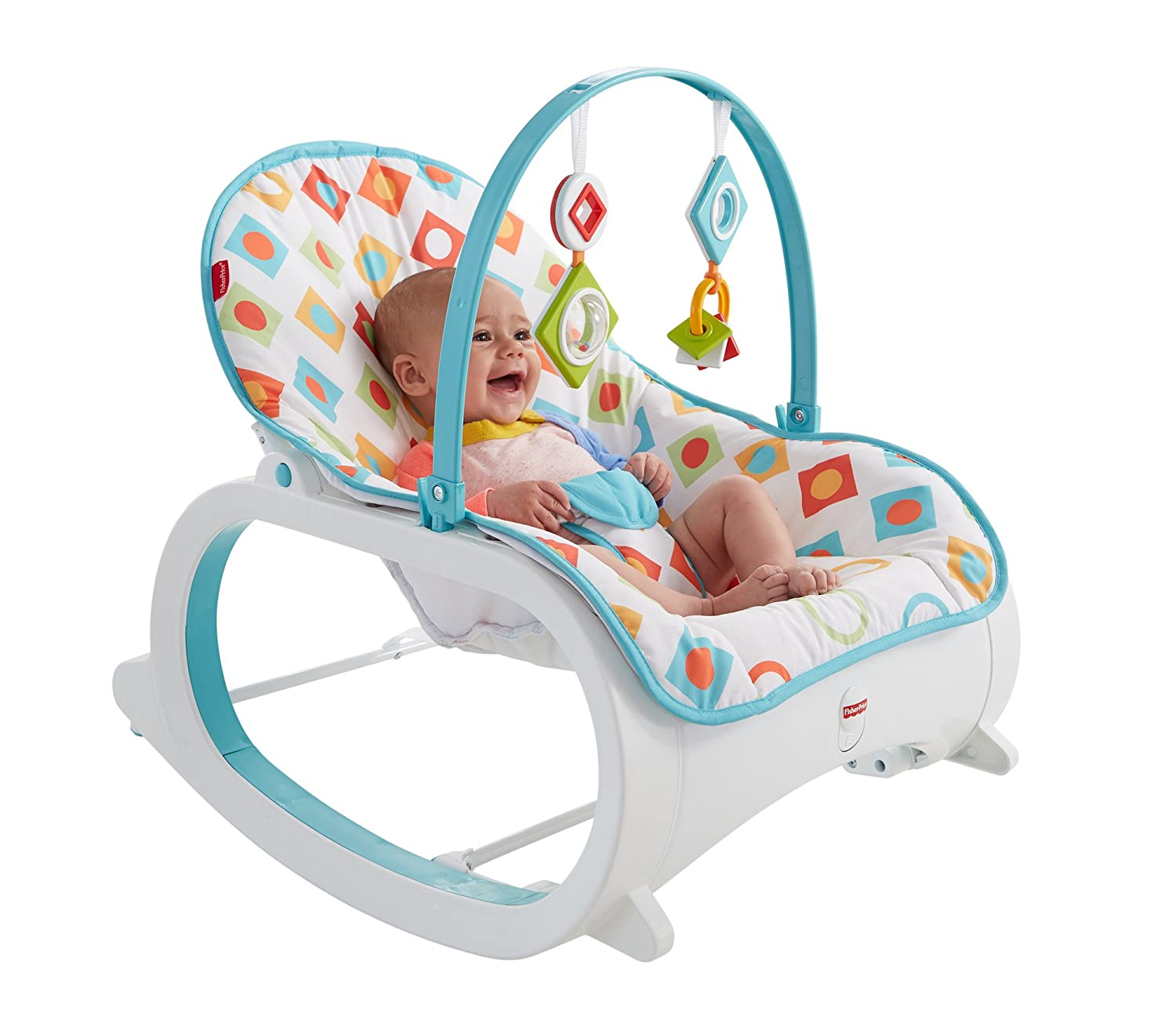 Baby bed for reflux - Fisher Price Comfort Curve Bouncer Fisher Price Infant To Toddler Rocker Geo Diamonds