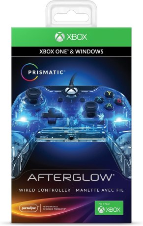 PDP Afterglow Wired Controller for Xbox One (048-121-NA) - Xbox One Video Game Controllers