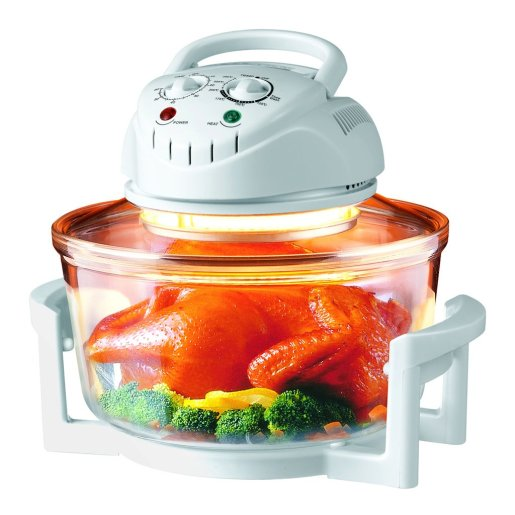 Hometech HT-A11 12 Quart 1200W Halogen Infrared Tabletop Convection Countertop Cooking Toaster Oven