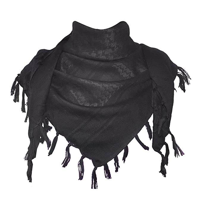 bufanda negra Wrap del desiertohttps://amzn.to/2E2LfIk