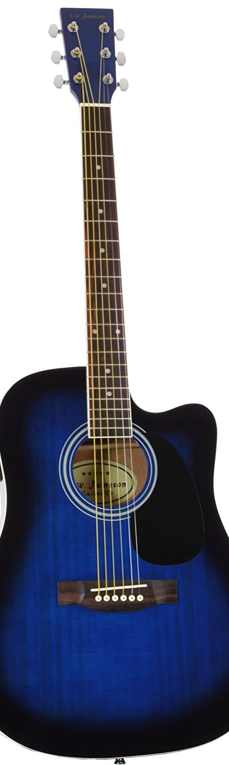 Jameson Guitars Full Size Thinline Acoustic-Electric Guitar