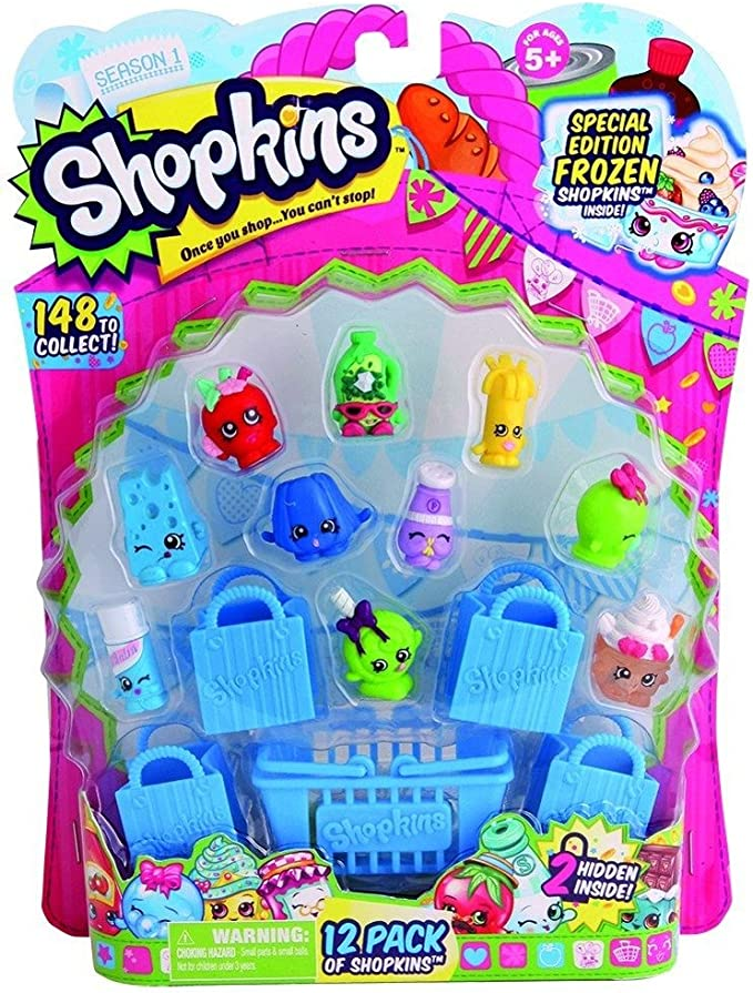 Amazon Com Shopkins Season 1 12 Pack Styles Will Vary Discontinued By Manufacturer Toys Games