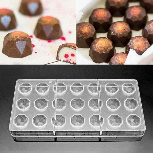 molde para bombones de chocolate