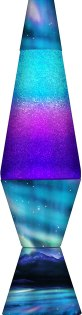 Colormax Northern Lights Lava Lamp