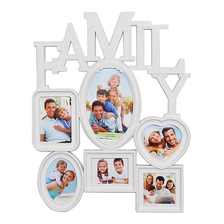 Family Multi Photo Frame White | Frameviewjdi.org