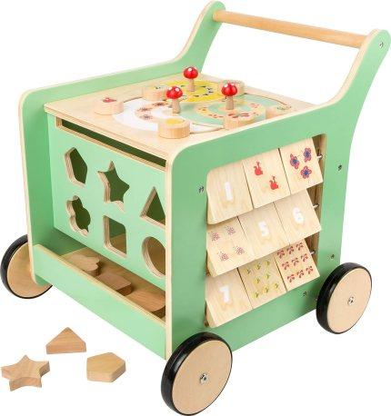 baby wooden walker