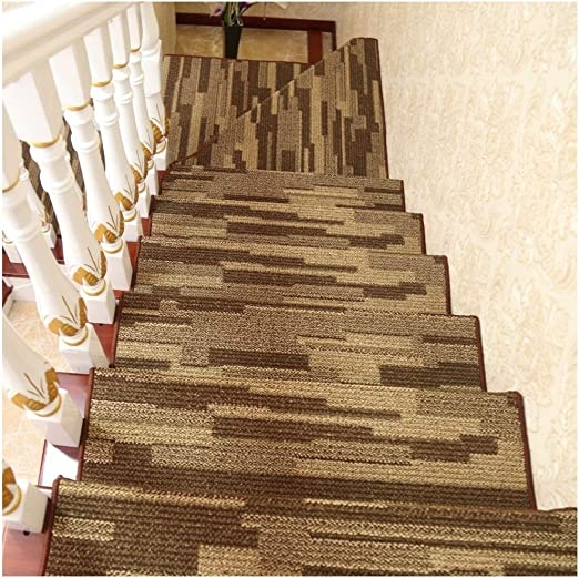 Amazon Com Yfmmm Carpet Stair Treads Non Slip 5 Set Stair Treads | Amazon Outdoor Stair Treads | Self Adhesive | Non Skid | Rubber Backing | Rubber Stair | Carpet Stair