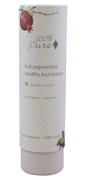 Foundation Full Coverage Peach Bisque w/ Sun Protection 100% Pure