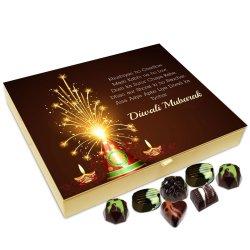 Chocholik Diwali Gift Box – Diwali Mubarak to All Chocolate Box – 20pc