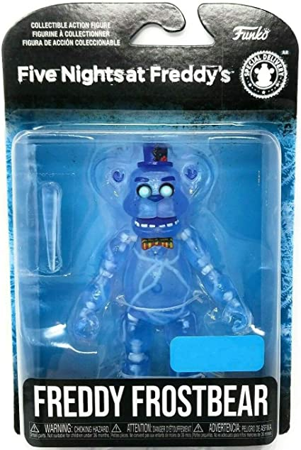 Amazon Com Five Nights At Freddy S Articulated Freddy Frostbear Action Figure 5 Inch Toys Games
