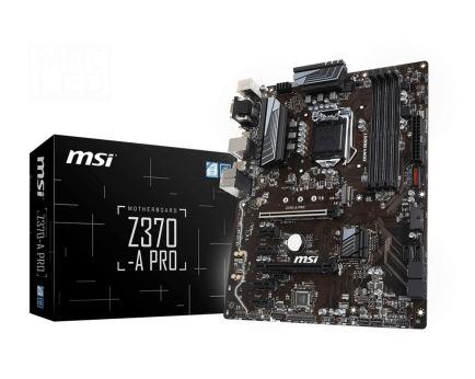 MSI Z370-A Pro Review