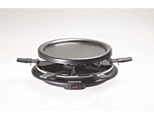 Toastess 6-Person Nonstick Party Grill and Raclette