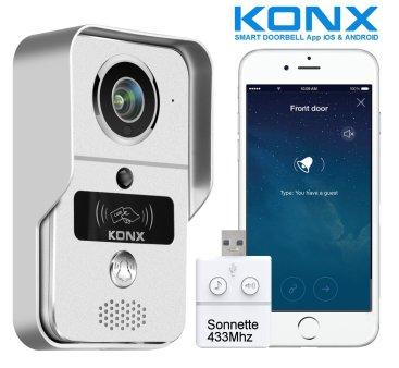 Le portier vidéo Konx KW02C