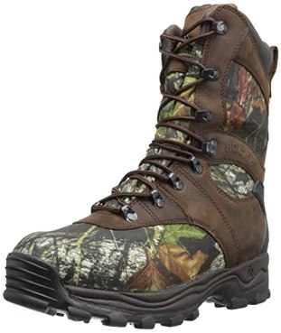 Rocky Men's Sport Utility Pro Hunting Boot,Mossy Oak,9.5 W US