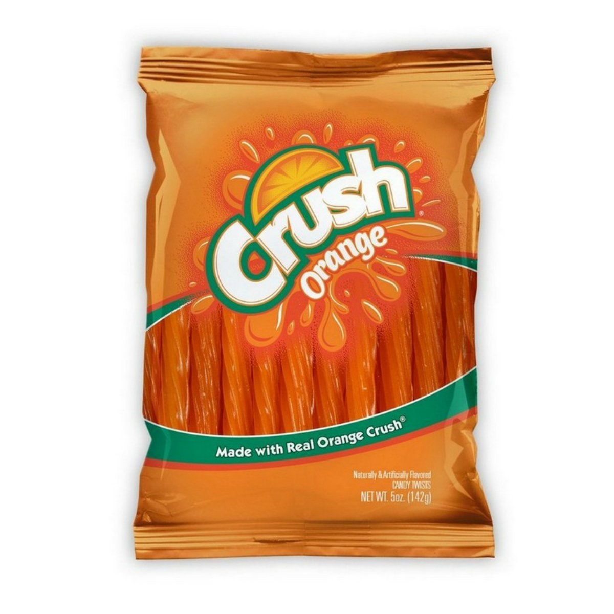Kenny's Juicy Licorice Twists 5 oz Bag - Choose Any Flavor (Orange Crush)