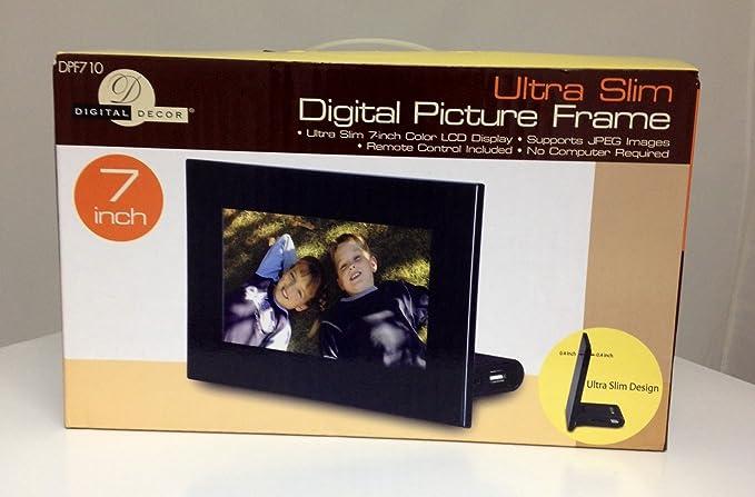 Digital Decor Picture Frame Manual Framejdi