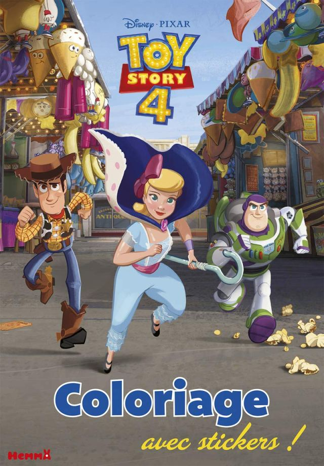 Disney Toy Story 16 - Coloriage avec stickers : COLLECTIF: Amazon
