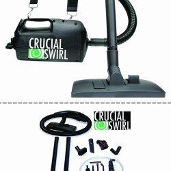 Crucial Swirl Powerful Handheld Portable Vacuum Cleaner, by Crucial Vacuum