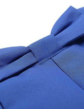 Pleated Midi Skirt | high waisted ribbon
