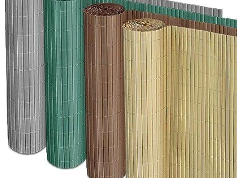 sichtschutz fuer zaun casa pura sichtschutz zaun für außenbereich | grau | für balkon, terrasse  und garten | größe wählbar (xcm)