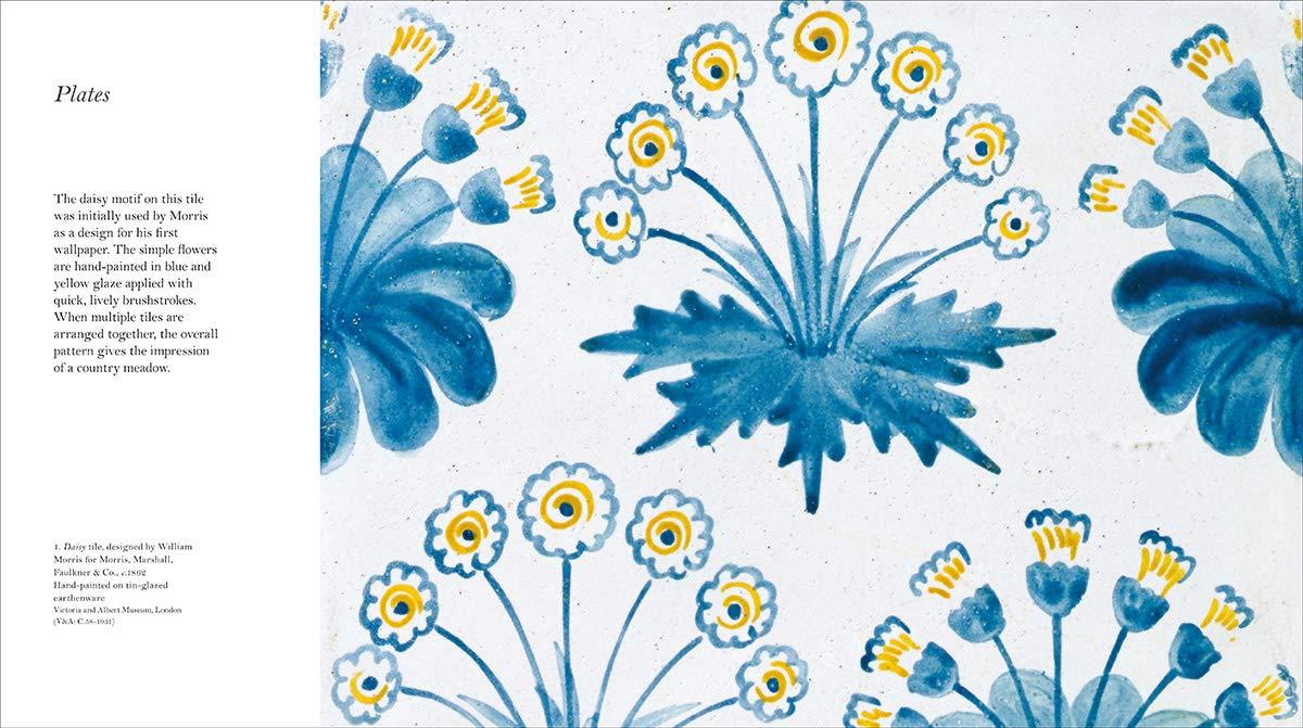 Libros de flores de William Morris.