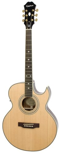 Epiphone PR5-E Thin-Body Acoustic/Electric Guitar