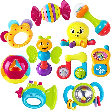 ilearn-baby-rattles-toy-set-review