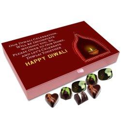 Chocholik Diwali Gift Box – Diwali Celebration is Incomplete Without You Chocolate Box – 12pc