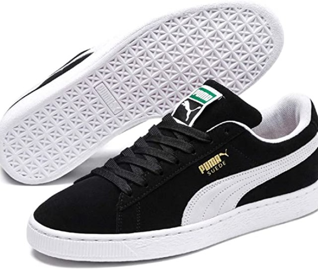 Amazon Com Puma Select Mens Suede Classic Plus Sneakers Puma Shoes
