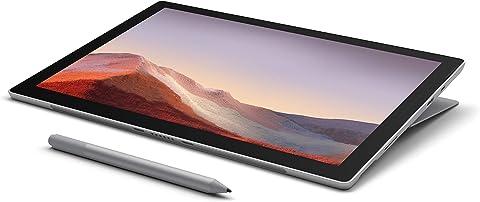 【Microsoft ストア限定】3点セット: Surface Pro 7 (Core-i5 / 8GB / 256GB / プラチナ) + 専用タイプカバー + Surface ペン