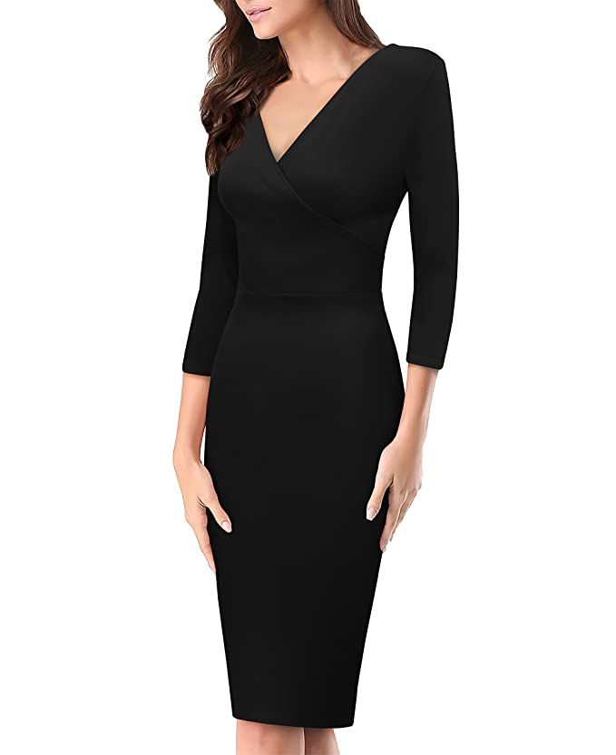 Vestido formal negro para mujerehttps://amzn.to/2QKQOlz