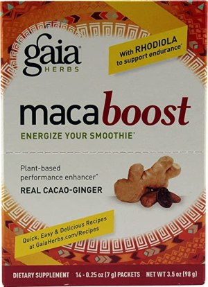 MacaBoost Cacao-Ginger Gaia Herbs