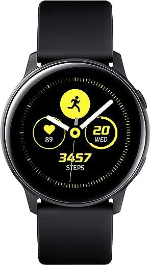 Samsung Galaxy Watch Active (40mm, GPS, Bluetooth), Black - US Version with Warranty