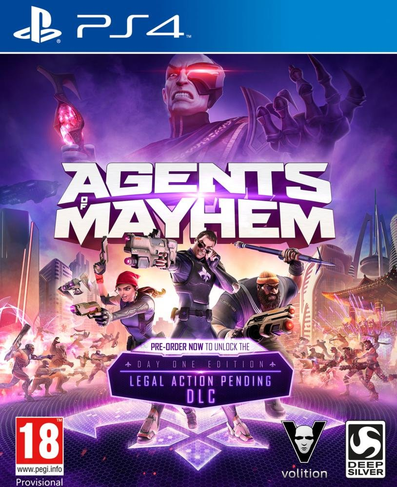 Agents of Mayhem - Special Edition - PS4